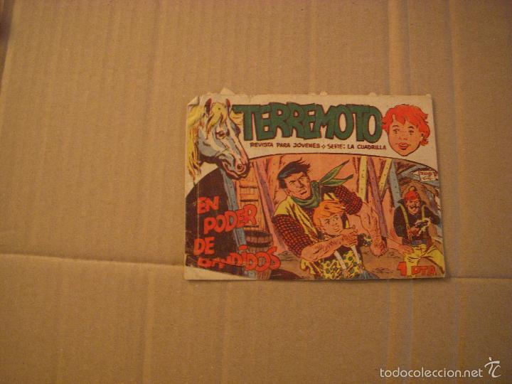 TERREMOTO Nº 13, EDITORIAL MAGA (Tebeos y Comics - Maga - Otros)