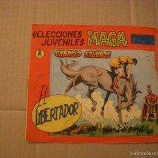 Tebeos: EL LIBERTADOR Nº 15, SELECCIONES JUVENILES MAGA, EDITORIAL MAGA. Lote 61481691