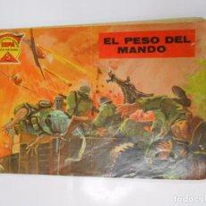 Tebeos: COLECCIÓN ESPÍA, SERIE METEORO, Nº 45 EL PESO DEL MANDO. TDKC18. Lote 61532268