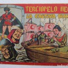 Tebeos: TERCIOPELO NEGRO , N, 21 , LA CAUTIVA BLANCA , MAGA , 1954. Lote 61702292