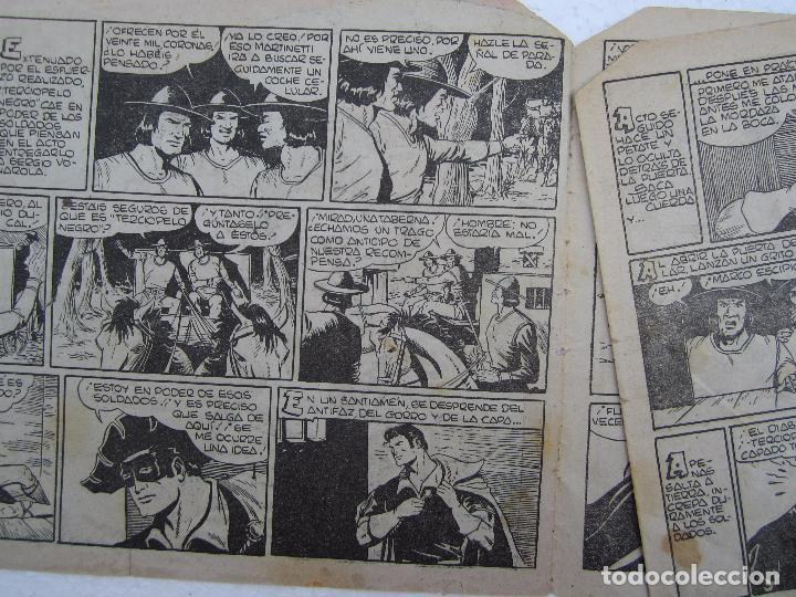 Tebeos: terciopelo negro , n, 21 , la cautiva blanca , maga , 1954 - Foto 2 - 61702292