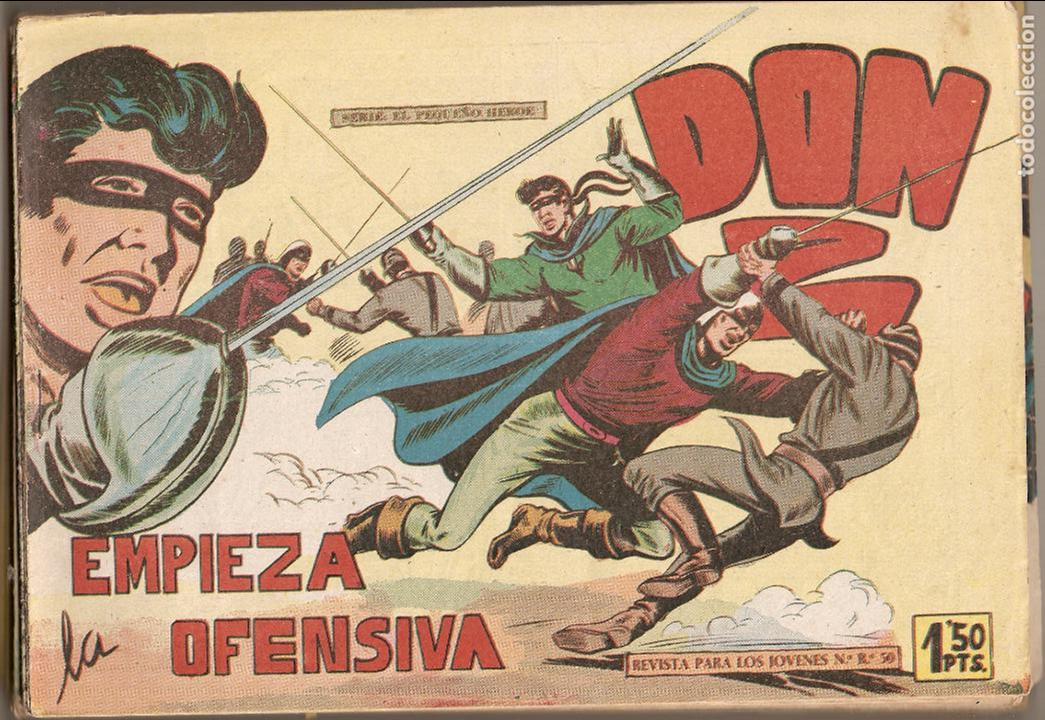 Tebeos: Don Z. Año 1.959. Lote de 52. Tebeos Originales Nuevos. - Foto 2 - 61869800