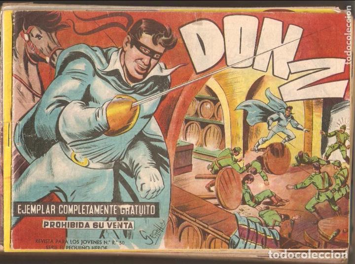 DON Z, AÑO 1.959. LOTE DE 73. TEBEOS, SON ORIGINALES. DIBUJANTE SERCHIO. EDITORIAL MAGA (Tebeos y Comics - Maga - Don Z)