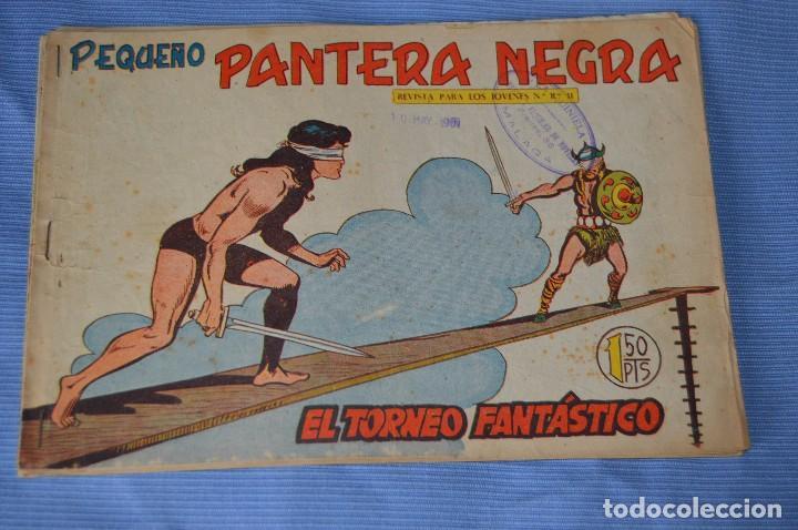 Tebeos: LOTE - PEQUEÑO PANTERA NEGRA - Números 180, 183 y 184 - Editorial MAGA - Originales - Años 50/60 - Foto 2 - 228957980