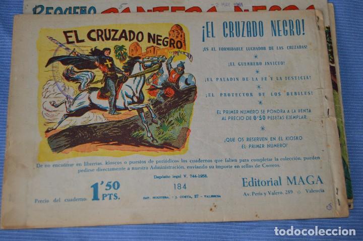 Tebeos: LOTE - PEQUEÑO PANTERA NEGRA - Números 180, 183 y 184 - Editorial MAGA - Originales - Años 50/60 - Foto 3 - 228957980