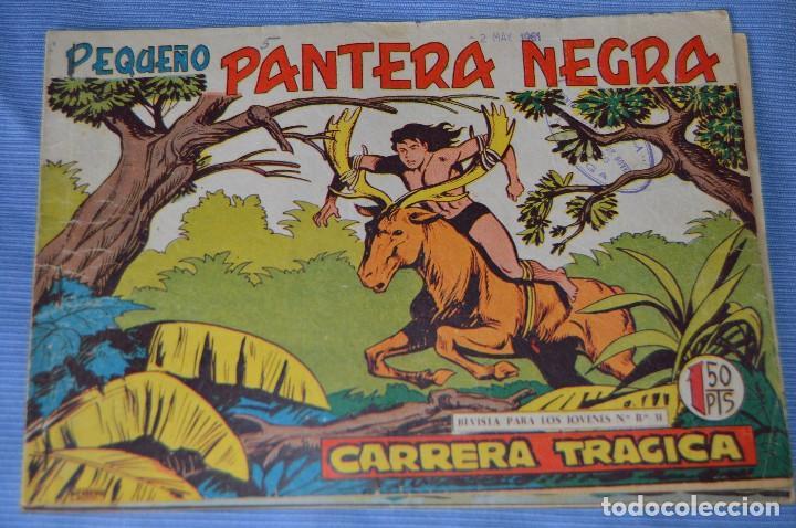 Tebeos: LOTE - PEQUEÑO PANTERA NEGRA - Números 180, 183 y 184 - Editorial MAGA - Originales - Años 50/60 - Foto 4 - 228957980