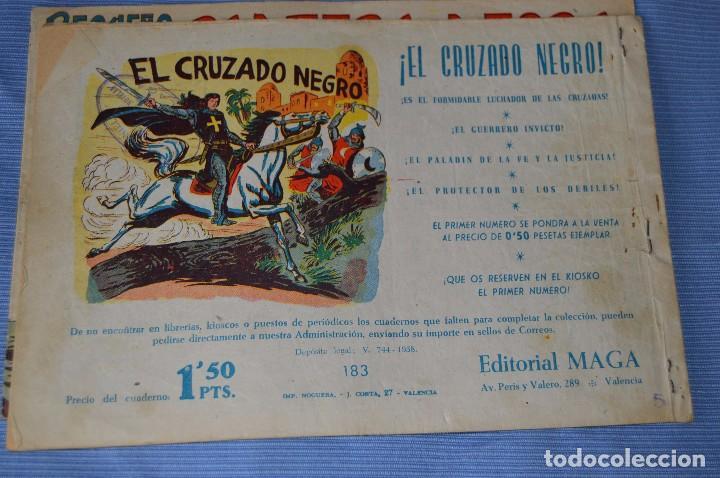 Tebeos: LOTE - PEQUEÑO PANTERA NEGRA - Números 180, 183 y 184 - Editorial MAGA - Originales - Años 50/60 - Foto 5 - 228957980