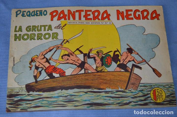 Tebeos: LOTE - PEQUEÑO PANTERA NEGRA - Números 180, 183 y 184 - Editorial MAGA - Originales - Años 50/60 - Foto 6 - 228957980