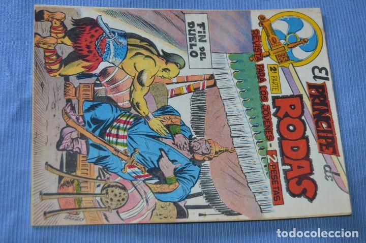 EL PRÍNCIPE DE RODAS - 2ª PARTE - FIN DEL DUELO - EDITORIAL MAGA - ORIGINAL AÑOS 50/60 (Tebeos y Comics - Maga - Otros)