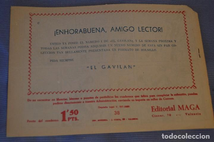 Tebeos: LOTE - BENGALA - Editorial MAGA - NÚM. 38, 41, 43 y 45 - Originales, buen estado - Años 50/60 - Foto 3 - 63132288