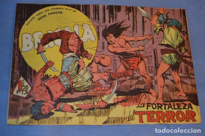 Tebeos: LOTE - BENGALA - Editorial MAGA - NÚM. 38, 41, 43 y 45 - Originales, buen estado - Años 50/60 - Foto 4 - 63132288