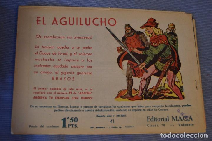 Tebeos: LOTE - BENGALA - Editorial MAGA - NÚM. 38, 41, 43 y 45 - Originales, buen estado - Años 50/60 - Foto 5 - 63132288