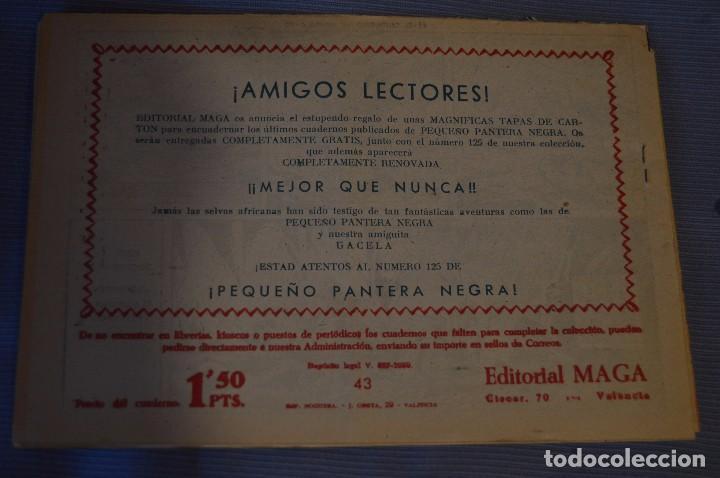 Tebeos: LOTE - BENGALA - Editorial MAGA - NÚM. 38, 41, 43 y 45 - Originales, buen estado - Años 50/60 - Foto 7 - 63132288