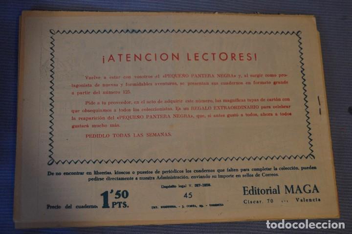 Tebeos: LOTE - BENGALA - Editorial MAGA - NÚM. 38, 41, 43 y 45 - Originales, buen estado - Años 50/60 - Foto 9 - 63132288