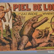 Tebeos: PIEL DE LOBO - EDITORIAL MAGA - NÚM. 35 - ORIGINAL, BUEN ESTADO - AÑOS 50/60 ¡MIRA FOTOS/DETALLES!. Lote 63146288