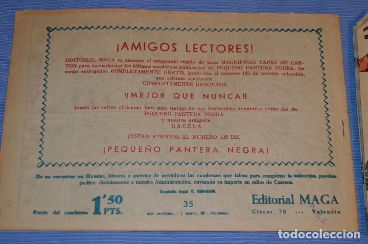 Tebeos: PIEL DE LOBO - Editorial MAGA - NÚM. 35 - Original, buen estado - Años 50/60 ¡MIRA FOTOS/DETALLES! - Foto 2 - 63146288