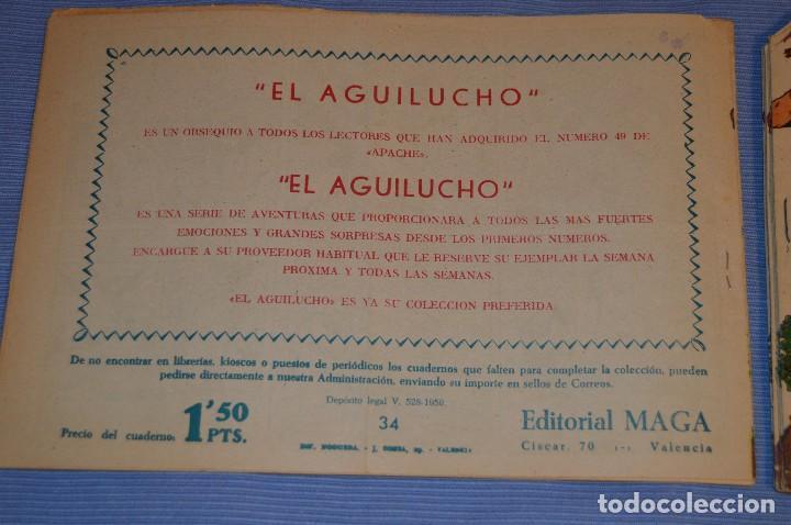 Tebeos: PIEL DE LOBO - Editorial MAGA - NÚM. 34 - Original, buen estado - Años 50/60 ¡MIRA FOTOS/DETALLES! - Foto 2 - 63146396