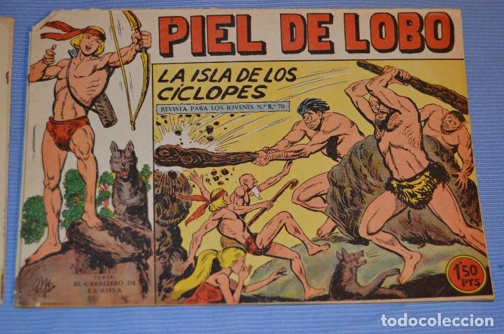 PIEL DE LOBO - EDITORIAL MAGA - NÚM. 30 - ORIGINAL, BUEN ESTADO - AÑOS 50/60 ¡MIRA FOTOS/DETALLES! (Tebeos y Comics - Maga - Piel de Lobo)