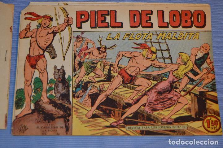 PIEL DE LOBO - EDITORIAL MAGA - NÚM. 29 - ORIGINAL, BUEN ESTADO - AÑOS 50/60 ¡MIRA FOTOS/DETALLES! (Tebeos y Comics - Maga - Piel de Lobo)