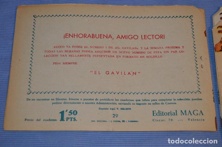 Tebeos: PIEL DE LOBO - Editorial MAGA - NÚM. 29 - Original, buen estado - Años 50/60 ¡MIRA FOTOS/DETALLES! - Foto 2 - 63146592