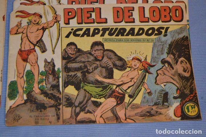 PIEL DE LOBO - EDITORIAL MAGA - NÚM. 28 - ORIGINAL, BUEN ESTADO - AÑOS 50/60 ¡MIRA FOTOS/DETALLES! (Tebeos y Comics - Maga - Piel de Lobo)
