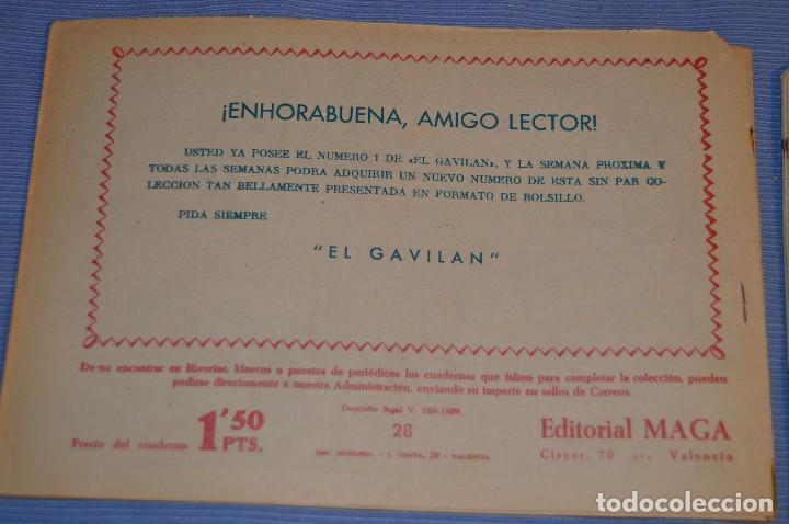 Tebeos: PIEL DE LOBO - Editorial MAGA - NÚM. 28 - Original, buen estado - Años 50/60 ¡MIRA FOTOS/DETALLES! - Foto 2 - 63146692