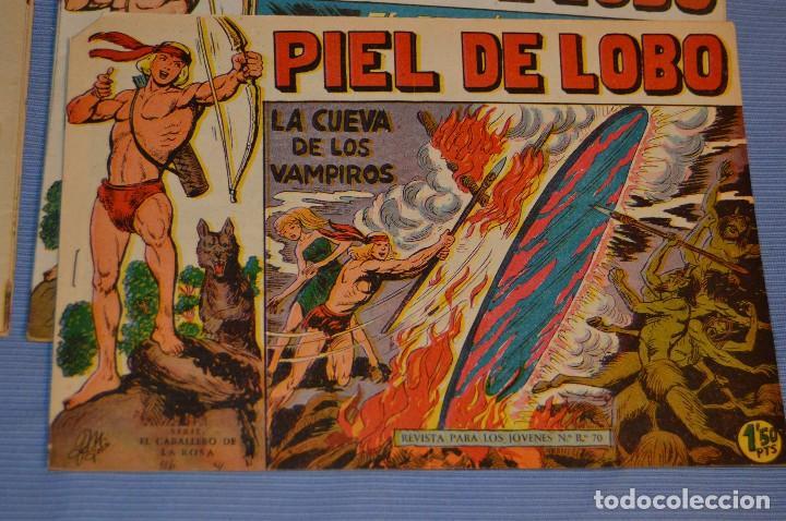 PIEL DE LOBO - EDITORIAL MAGA - NÚM. 27 - ORIGINAL, BUEN ESTADO - AÑOS 50/60 ¡MIRA FOTOS/DETALLES! (Tebeos y Comics - Maga - Piel de Lobo)