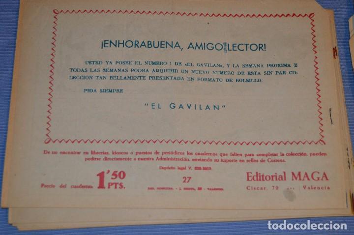 Tebeos: PIEL DE LOBO - Editorial MAGA - NÚM. 27 - Original, buen estado - Años 50/60 ¡MIRA FOTOS/DETALLES! - Foto 2 - 63146808