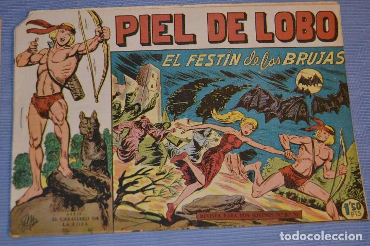 PIEL DE LOBO - EDITORIAL MAGA - NÚM. 26 - ORIGINAL, BUEN ESTADO - AÑOS 50/60 ¡MIRA FOTOS/DETALLES! (Tebeos y Comics - Maga - Piel de Lobo)