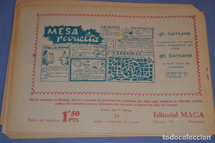 Tebeos: PIEL DE LOBO - Editorial MAGA - NÚM. 24 - Original, buen estado - Años 50/60 ¡MIRA FOTOS/DETALLES! - Foto 2 - 63147004