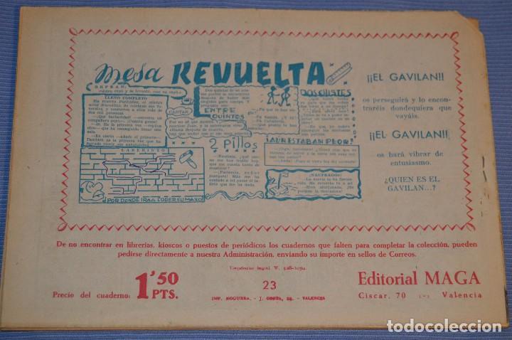Tebeos: PIEL DE LOBO - Editorial MAGA - NÚM. 23 - Original, buen estado - Años 50/60 ¡MIRA FOTOS/DETALLES! - Foto 2 - 63147116