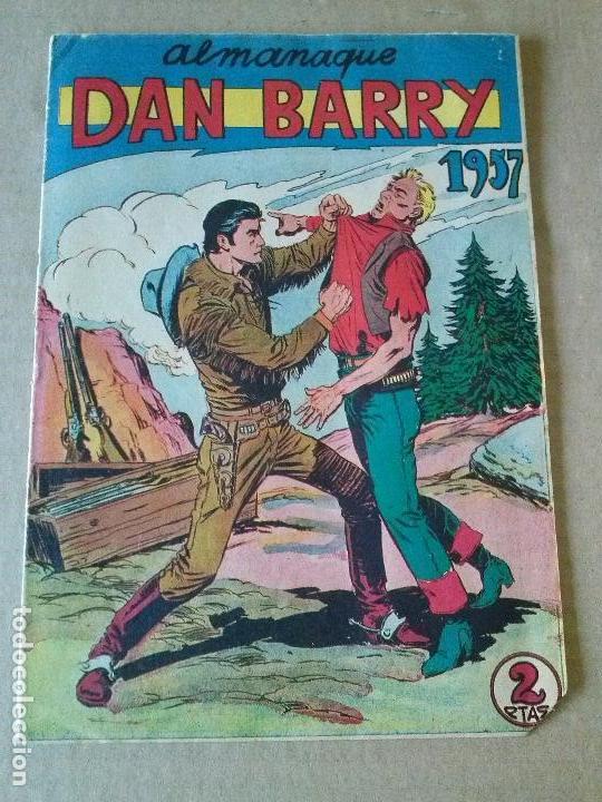DAN BARRY - ALMANAQUE 1957 - MAGA ,ORIGINAL .AR. (Tebeos y Comics - Maga - Dan Barry)