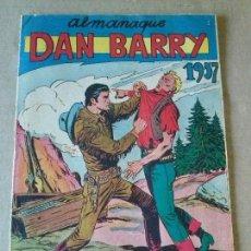 Tebeos: DAN BARRY - ALMANAQUE 1957 - MAGA ,ORIGINAL .AR.. Lote 63680359
