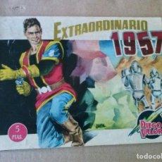 Tebeos: DIEGO VALOR - EXTRAORDINARIO 1957 , CID ,ORIGINAL .AR.. Lote 63680595