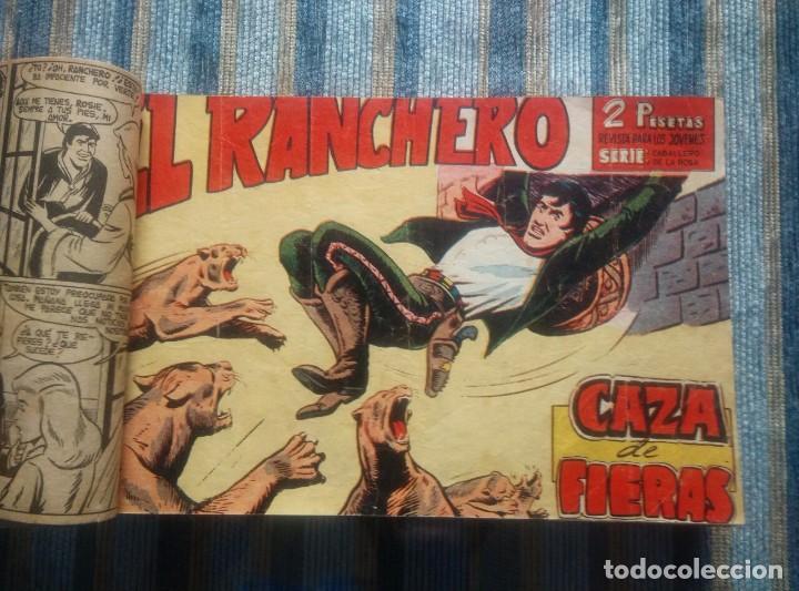 EL RANCHERO (COLECCIÓN CASI COMPLETA) - AMOROS (MAGA 1961) - ORIGINAL - (Tebeos y Comics - Maga - Otros)