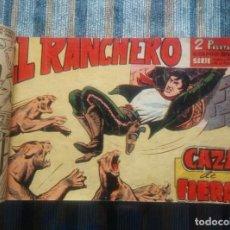 Tebeos: EL RANCHERO (COLECCIÓN CASI COMPLETA) - AMOROS (MAGA 1961) - ORIGINAL -. Lote 64129263