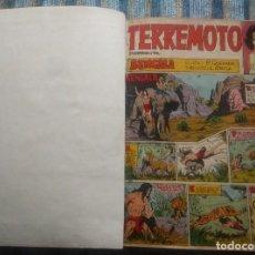 Tebeos: TERREMOTO PRESENTA A BENGALA (COMPLETA A FALTA DE UN NUMERO) - QUESADA Y ORTIZ (MAGA 1964). Lote 64130163