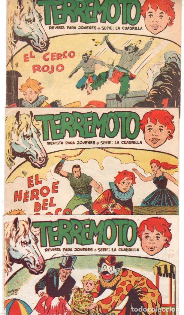 Tebeos: TERREMOTO - SERIE LA CUADRILLA, COMPLETA ORIGINAL , MAGA 1962 1 AL 25, MUY BIEN CONSERVADA - Foto 4 - 64174963