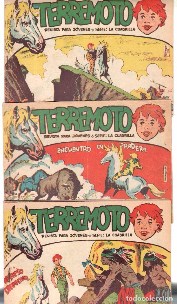 Tebeos: TERREMOTO - SERIE LA CUADRILLA, COMPLETA ORIGINAL , MAGA 1962 1 AL 25, MUY BIEN CONSERVADA - Foto 5 - 64174963