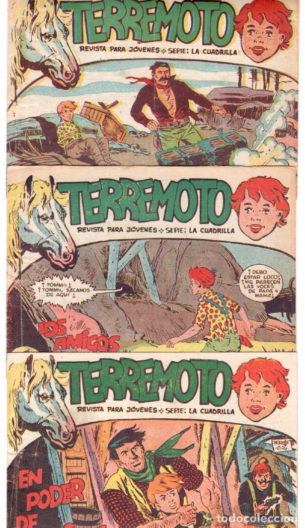 Tebeos: TERREMOTO - SERIE LA CUADRILLA, COMPLETA ORIGINAL , MAGA 1962 1 AL 25, MUY BIEN CONSERVADA - Foto 6 - 64174963