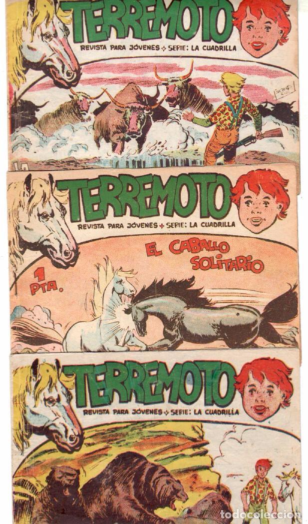 Tebeos: TERREMOTO - SERIE LA CUADRILLA, COMPLETA ORIGINAL , MAGA 1962 1 AL 25, MUY BIEN CONSERVADA - Foto 7 - 64174963