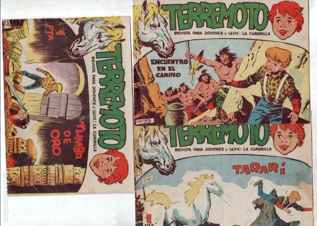 Tebeos: TERREMOTO - SERIE LA CUADRILLA, COMPLETA ORIGINAL , MAGA 1962 1 AL 25, MUY BIEN CONSERVADA - Foto 9 - 64174963