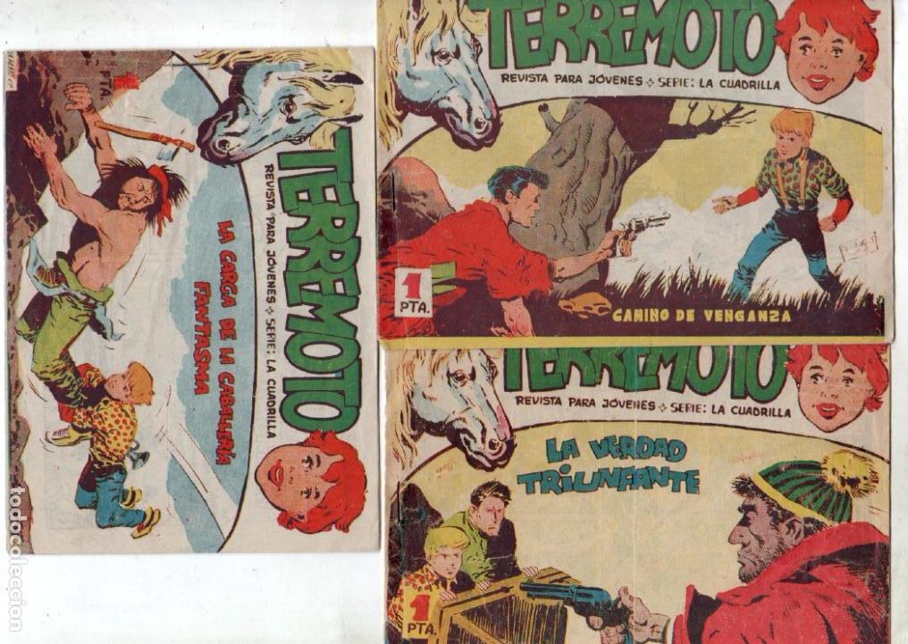 Tebeos: TERREMOTO - SERIE LA CUADRILLA, COMPLETA ORIGINAL , MAGA 1962 1 AL 25, MUY BIEN CONSERVADA - Foto 10 - 64174963