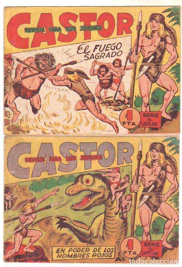 Tebeos: CASTOR COMPLETA original, EDI. MAGA 1962 - lote 41 TEBEOS, VER TODAS LAS PORTADAS - Foto 2 - 64186239