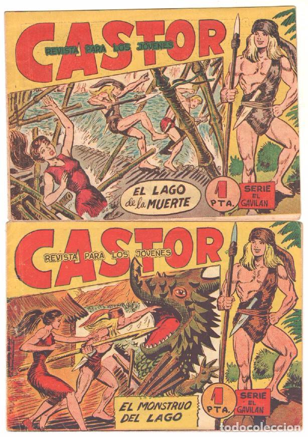 Tebeos: CASTOR COMPLETA original, EDI. MAGA 1962 - lote 41 TEBEOS, VER TODAS LAS PORTADAS - Foto 5 - 64186239