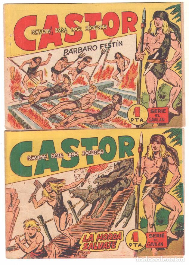 Tebeos: CASTOR COMPLETA original, EDI. MAGA 1962 - lote 41 TEBEOS, VER TODAS LAS PORTADAS - Foto 8 - 64186239