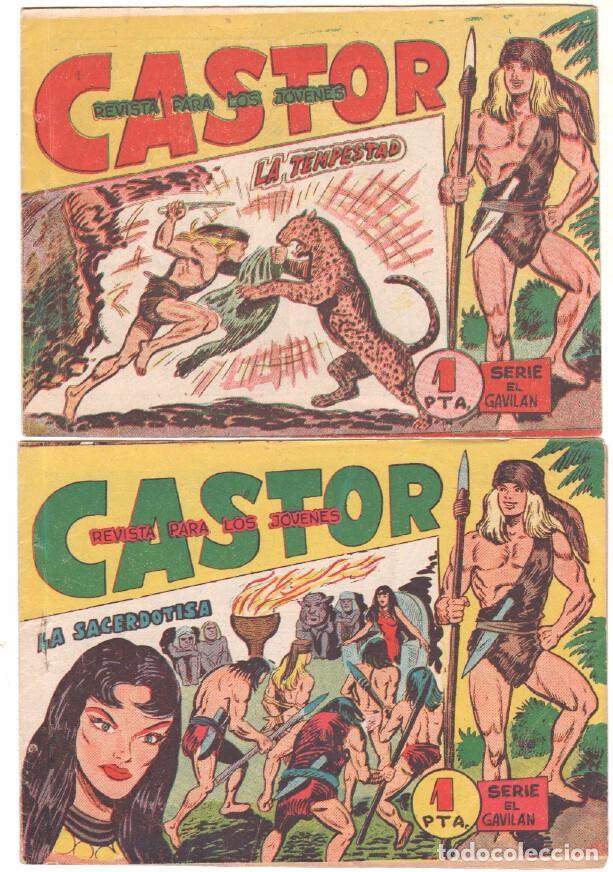 Tebeos: CASTOR COMPLETA original, EDI. MAGA 1962 - lote 41 TEBEOS, VER TODAS LAS PORTADAS - Foto 10 - 64186239