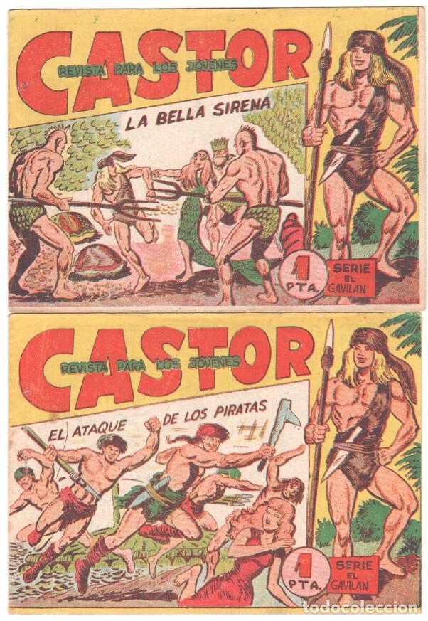 Tebeos: CASTOR COMPLETA original, EDI. MAGA 1962 - lote 41 TEBEOS, VER TODAS LAS PORTADAS - Foto 11 - 64186239