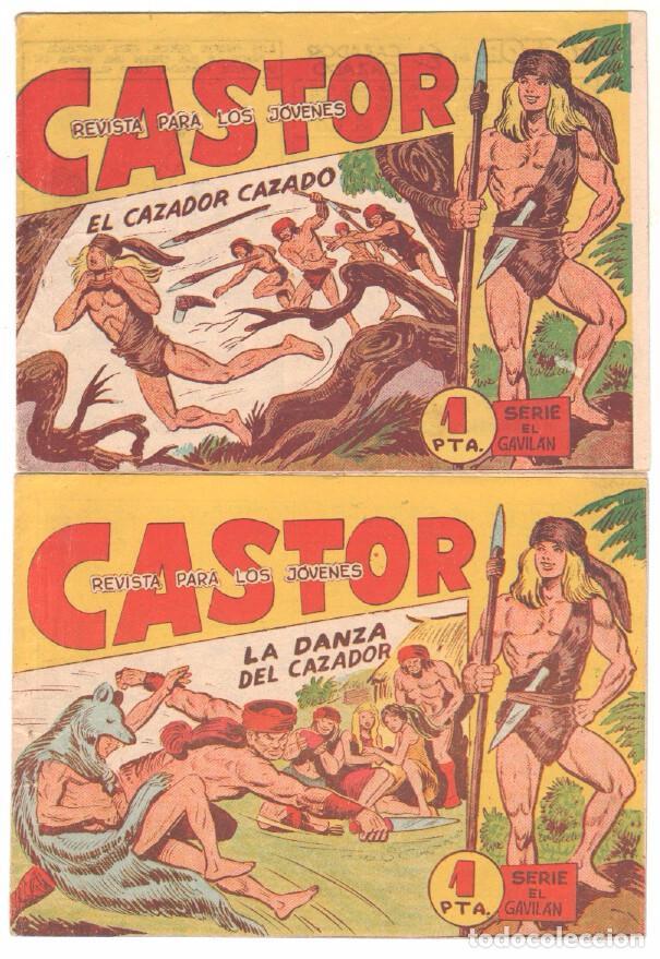 Tebeos: CASTOR COMPLETA original, EDI. MAGA 1962 - lote 41 TEBEOS, VER TODAS LAS PORTADAS - Foto 13 - 64186239