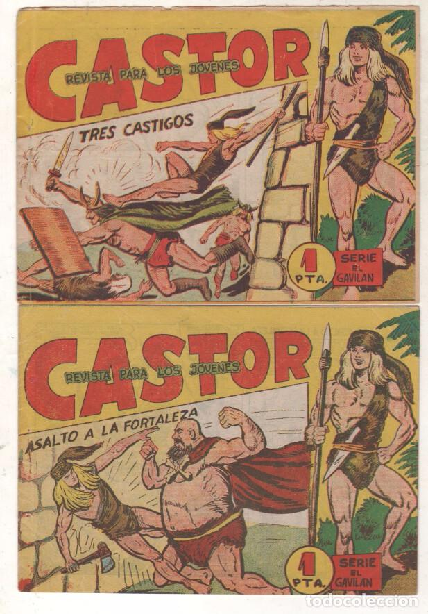 Tebeos: CASTOR COMPLETA original, EDI. MAGA 1962 - lote 41 TEBEOS, VER TODAS LAS PORTADAS - Foto 16 - 64186239